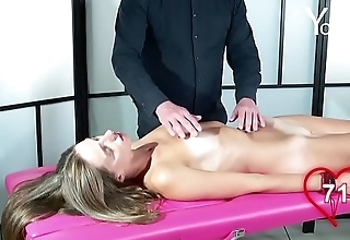 Yonitale: massage with beautiful skinny model