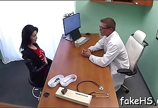 Long-awaited sex with a sexy doctor