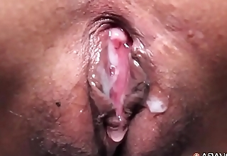 Skinny Filipina girl rides cock so good that she suffers a surprise eruption