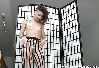 You will get addicted to me in pantyhose JOI
