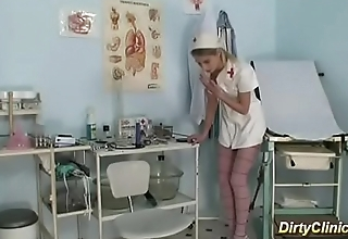 skinny nurse gets fucked by her patient