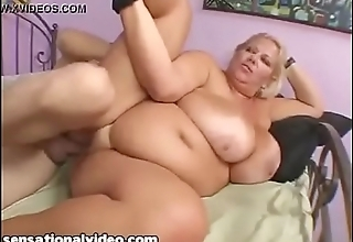 My hot Bbw mom get fucked by my friend when i was at college.