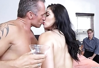 Lea Lexis Gets Set Up With Another Man Besides Her Cuckold Husband