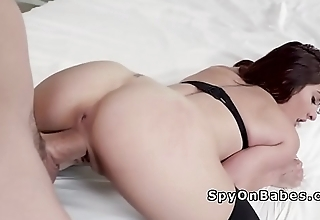 Bf likes to spy girlfriend fuck other cock