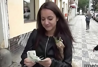 Public PIckup Girl Suck Dick For Cash 17