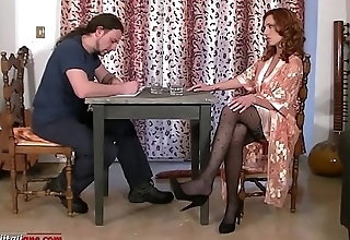 Maintenance Works Ep1 First Part - Pantyhose Foot Fetish