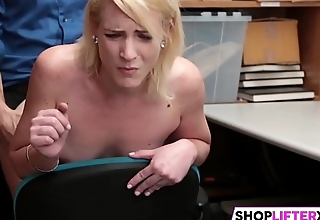 Shoplifting Teen Gets Inspected