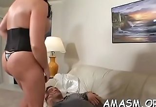 Sexy group smothering porn