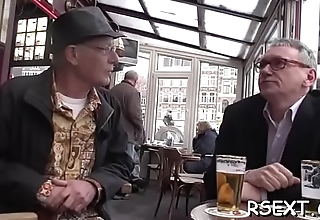 Fellow gives trip of amsterdam