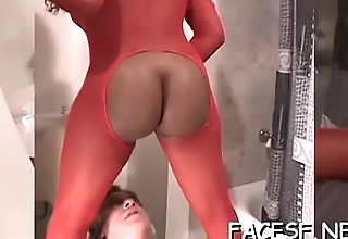 Hotty gets her ass licked hard