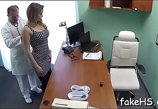 Fake doctor gets fucked actually hard