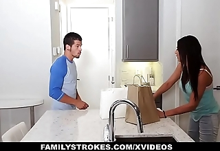 FamilyStrokes - Hot Teen Pounded By Her Cousin