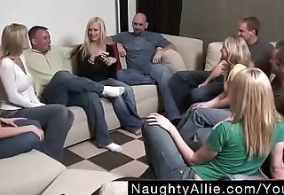 Party Game Leads to a Huge Orgy &ndash_ Swinger Wives - Free Porn Videos - YouPorn.MP4