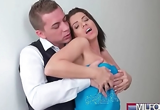 Blind Date with Perfect Tits MILF(Vicky Love) 01 clip-04