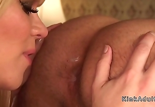 Hotel worker anal fucked by tranny